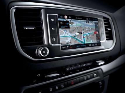 PEUGEOT Traveller – 3D on-line navigace