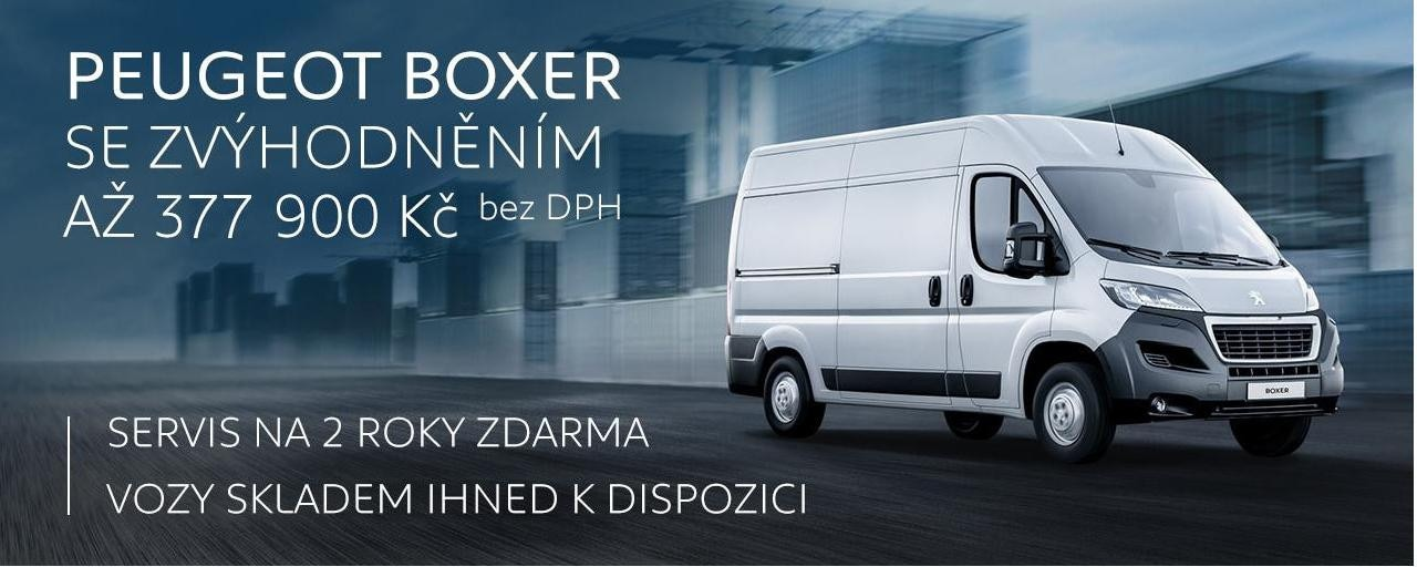 Nový Peugeot Boxer