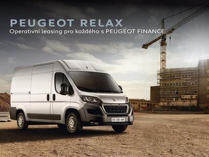 Operativní leasing Peugeot RELAX