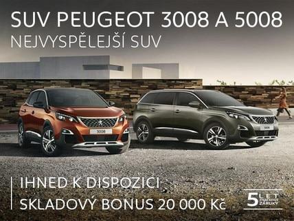 Peugeot 3008 a 5008