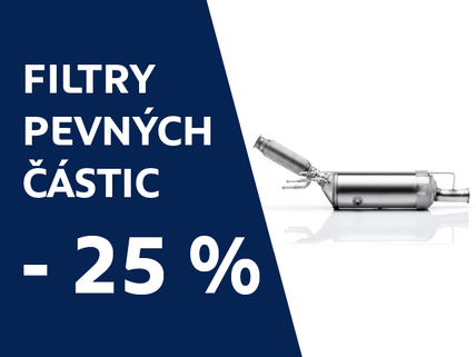 Filtry pevnych castic -25%