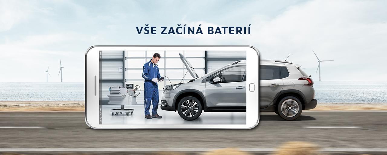 Sleva na baterie Peugeot -35 %