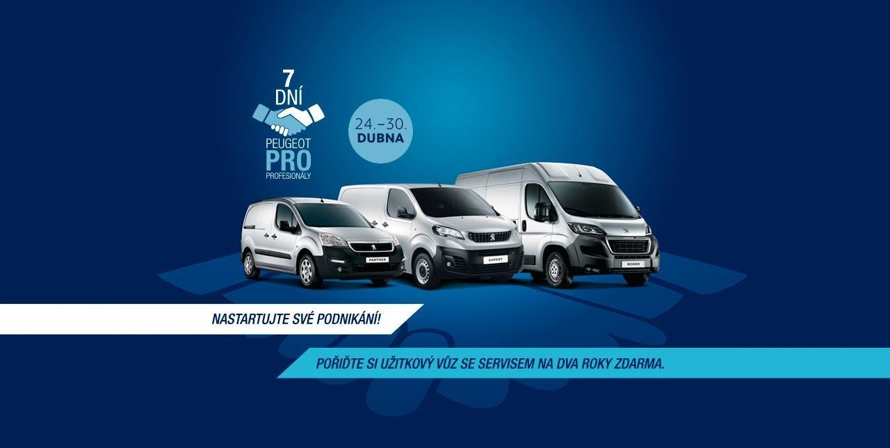 7 dní Peugeot pro profesionály