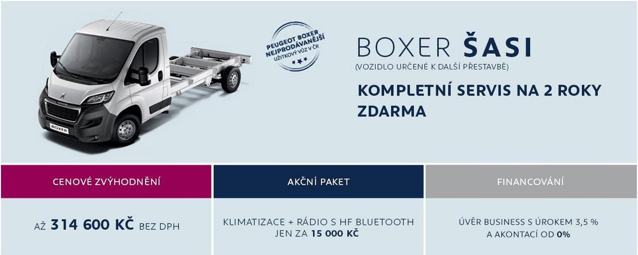 Boxer Šasi