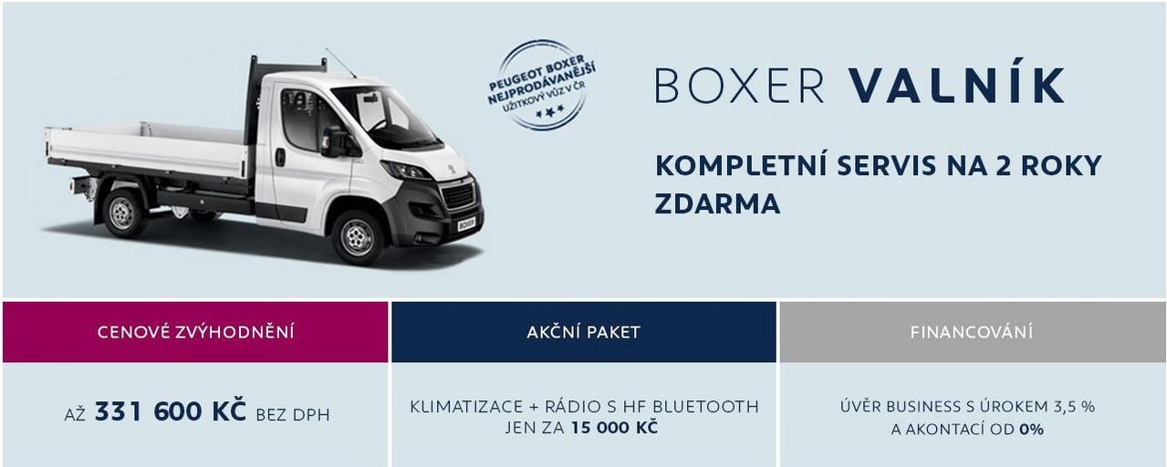 Boxer Valník