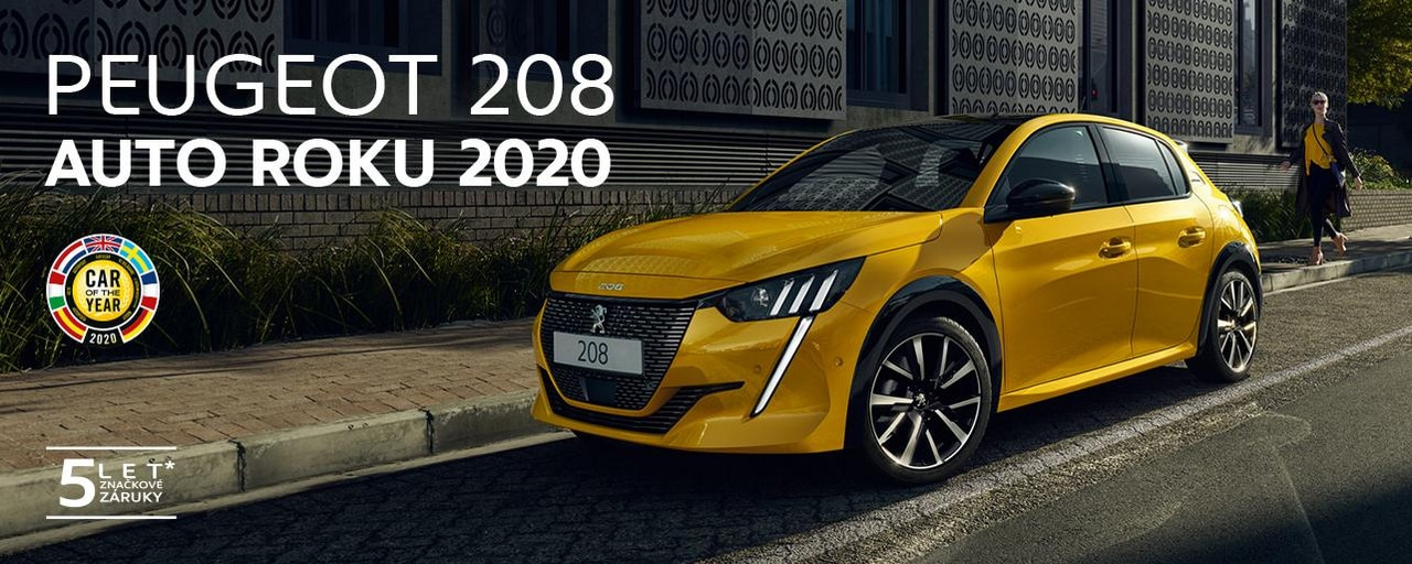 Nová 208 - Auto roku 2020