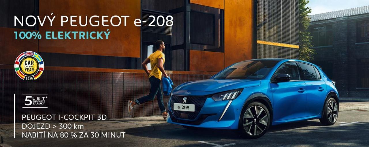 Nová e-208 - Auto roku 2020