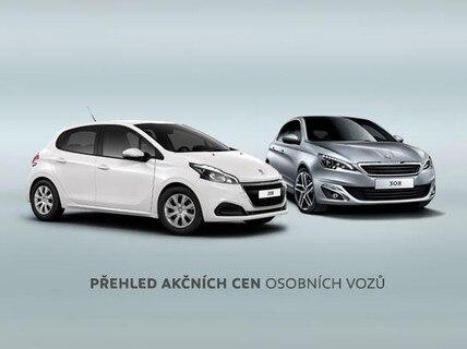 Přehled akčních cen osobních vozů
