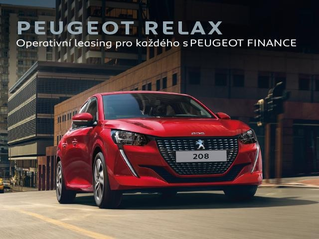 Operativní leasing Peugeot RELAX