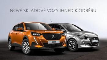 Skladové vozy Peugeot