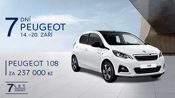 7 dní Peugeot