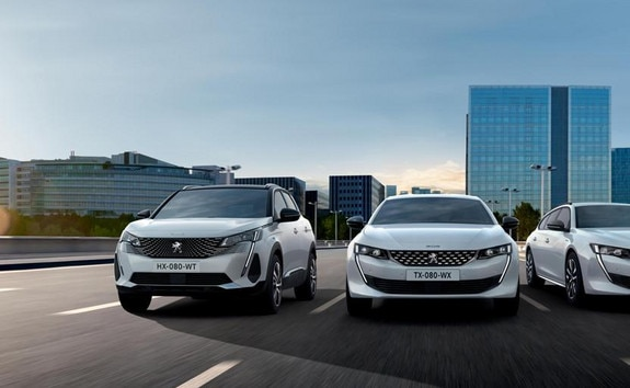 Peugeot plug-in hybridy