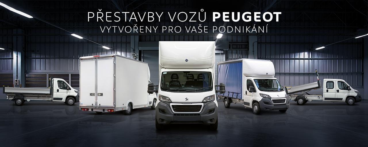 Přestavby užitkových vozů Peugeot